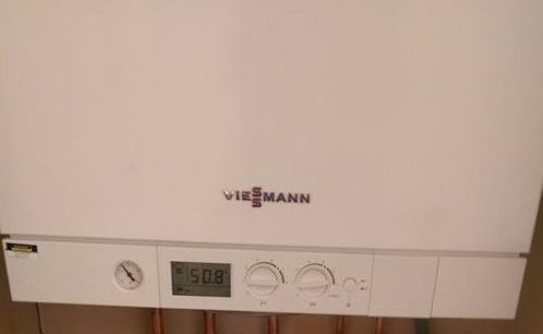 viessmann boiler installation in hull